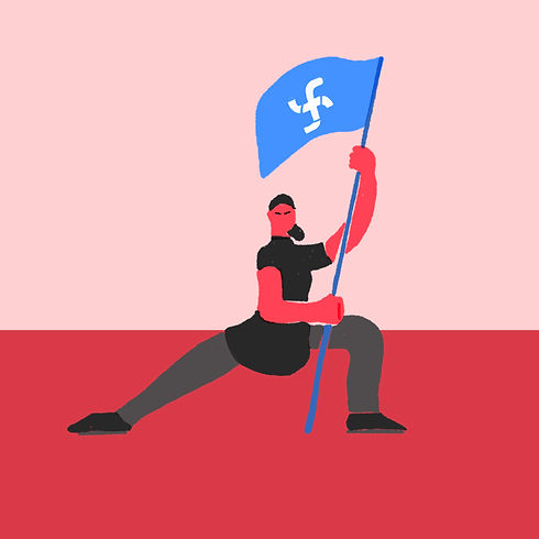 Juraj Kusy Facebook Profile jurajkusy illustration threat to democracy mark zuckerberg
