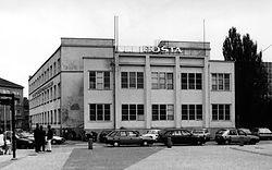 poštový telegrafický úrad architekt josef marek, vladimír melichar, moderná architektúra nitra 1929