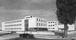 štátna meštianska škola kedysi Architekt Oskar Singer moderná architektúra Nitra