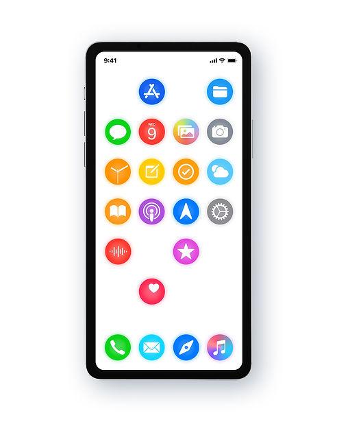 iOS redesign concept rethinking nextOS iOS 15 16 iPhone new user interface designed by Juraj Kusy for Apple Alan Dye Mark Gurman