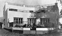 dom Veröovcov Architekt Friedrich Weinwurm moderná architektúra Nitra kedysi
