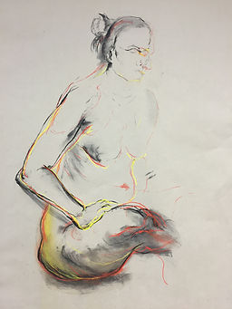 figure drawing by juraj kusy