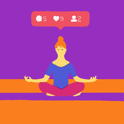 Instagram profile jurajkusy juraj kusy illustration mental health