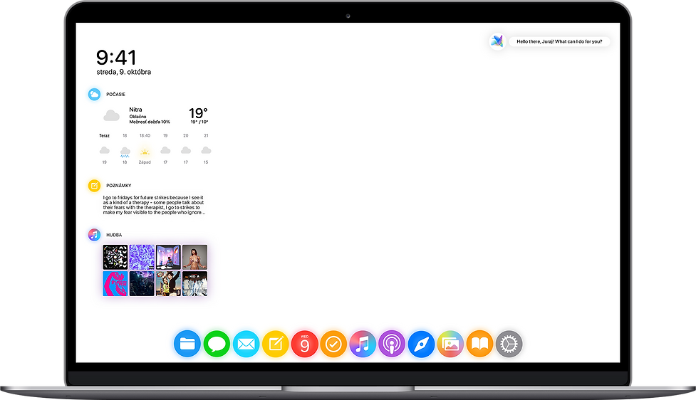 MacBook macOS new system iOS redesign concept rethinking nextOS iOS 15 16 iPhone new user interface designed by Juraj Kusy for Apple Alan Dye Mark Gurman