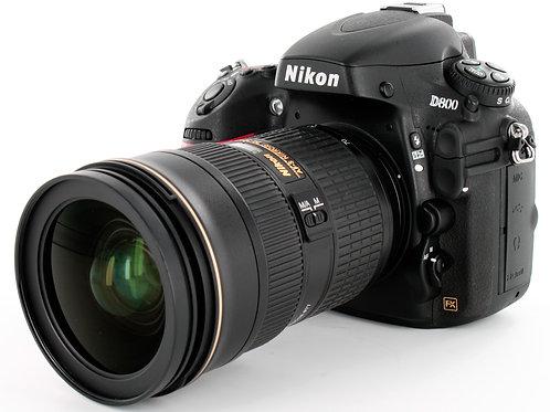 Nikon D800E FX with Lens AF-S 24-70mm f2.8G ED