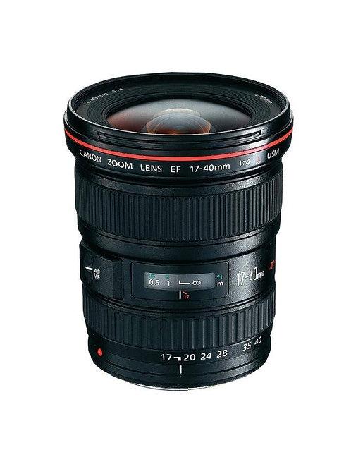 Canon EF 17-40mm f4.0L