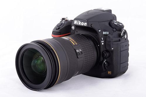 Nikon D810 with AF-S 24-70mm f2.8G ED