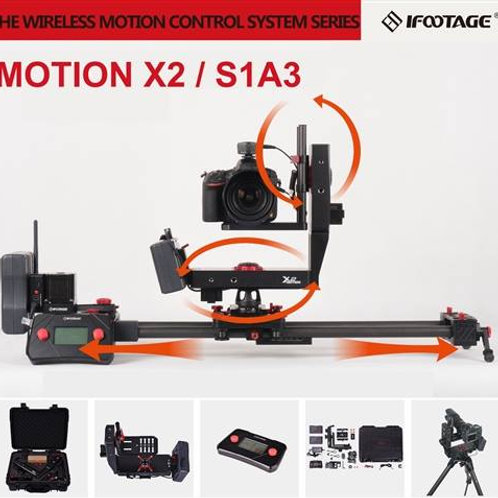 iFootage Shark Slider S1 w/Motorised, Controller & Motion X2