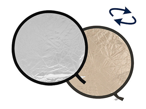 Collapsible Reflector 30cm Sunlite/Soft Silver