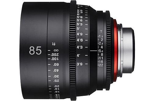 85mm T1.5 Cine