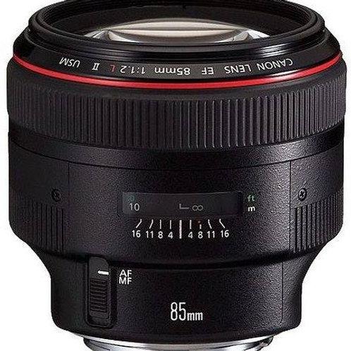 Canon EF 85mm II f1.2L
