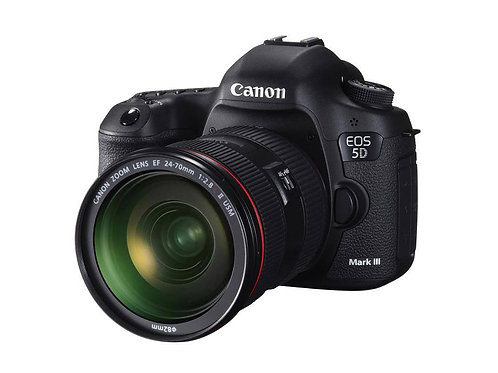 Canon EOS 5D Mark lll with EF 24-105mm f4.0L Lens