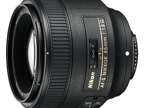 Nikkor af-s 85mm f/1.8g