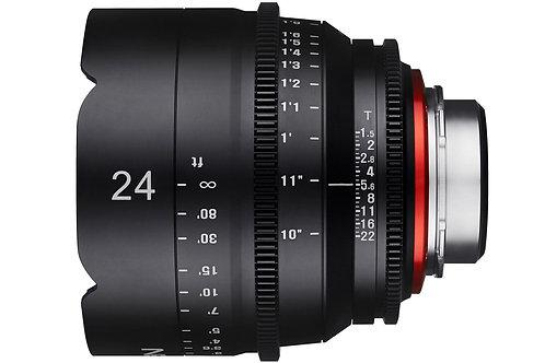 24mm T1.5 Cine