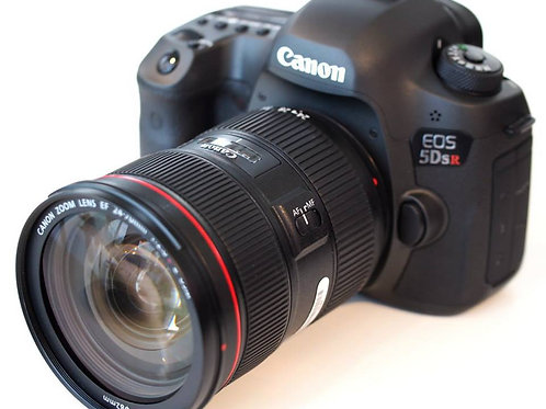 Canon EOS 5DSR with EF 24-105mm f4.0L Lens