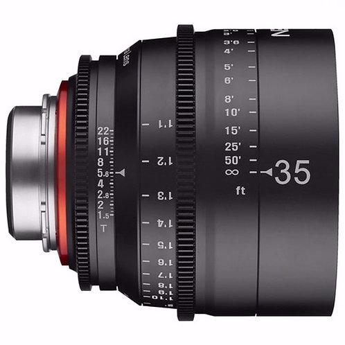 35mm T1.5 Cine