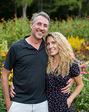 JuneBug Asheville owners Tom and Charlene Pagano