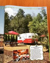 Retro campers dot the rustic venue like colorful confetti! — The Pioneer Woman