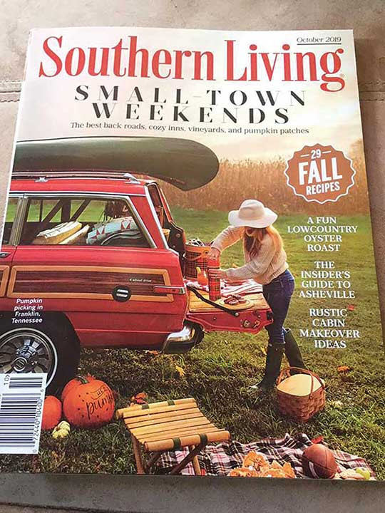Southern Living finds JuneBug!