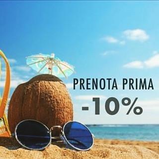 PRENOTA PRIMA -10%