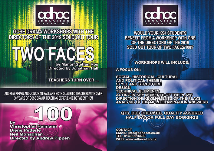 TWO FACES 100 WORKSHOPS ONLINE LEAFLET.j