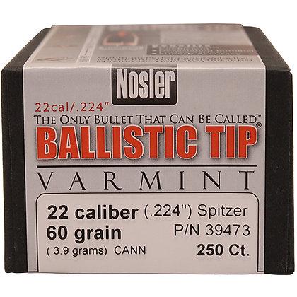 22 Cal 60gr BallisticTip (250 ct)