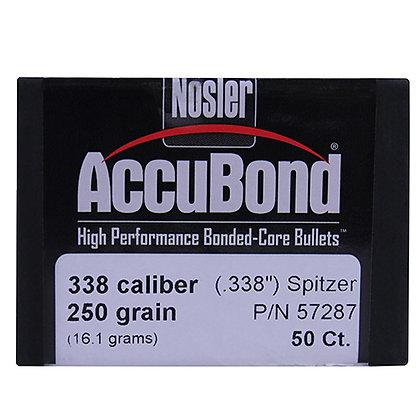 338 Cal 250gr  AccuBond (50 ct)