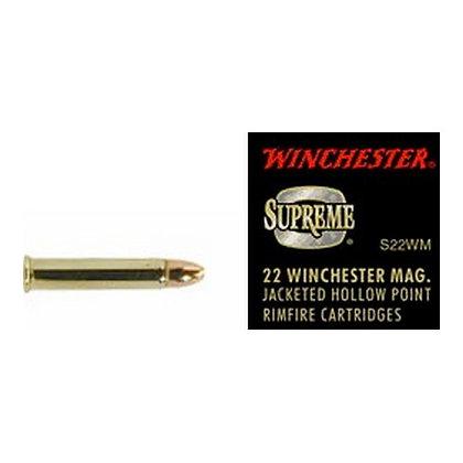22 WinMag 34gr Supreme JHP /50