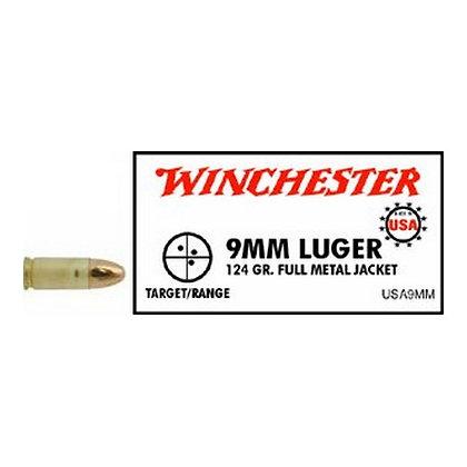 USA 9mm Luger 124gr FMJ/50