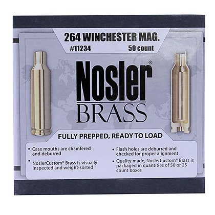 264 Win Magnum Brass (50 ct)