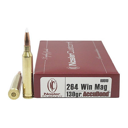 264 Winchester 130gr AccuBond (20 ct.)