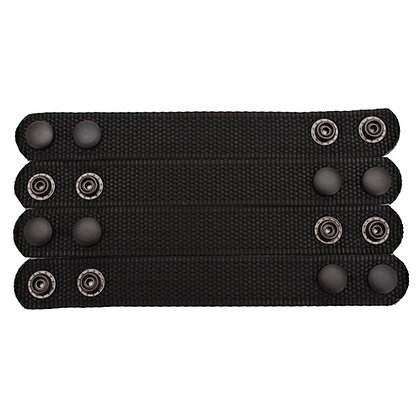 6406 Ranger Belt Keeper-Per 4-Blk