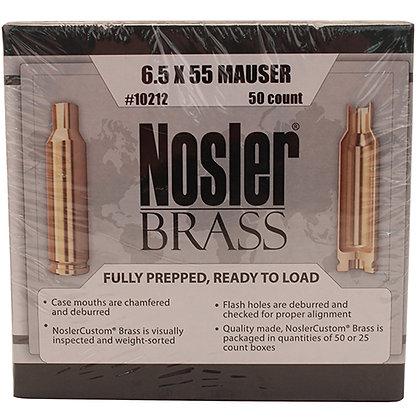 6.5x55 Mauser Brass (50 ct)