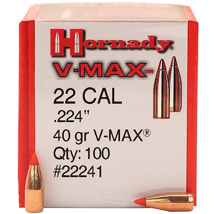 22 Cal .224 40gr VMAX /100