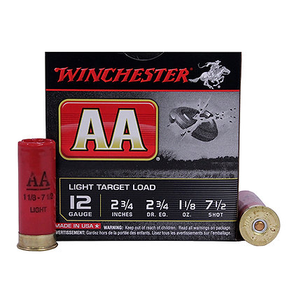"""12Ga. 2.75"""" 7.5-Shot Target/25"""