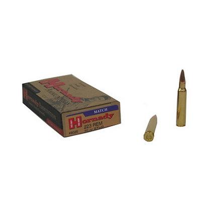 Ammo 223 Rem 75gr Bthp Match/20