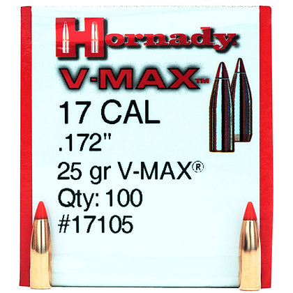 17 Cal .172 25gr V-MAX /100