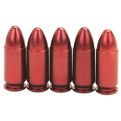 Pistol Mtl Snap Caps 9mmLgr 5pk