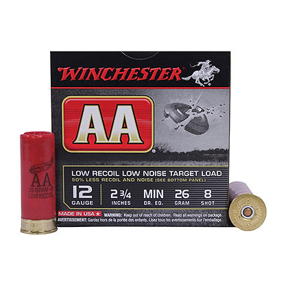 "AA 12Ga. 2.75"" 8-Shot Target/25"