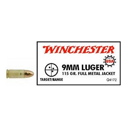 9mm Luger 115Gr. FMJ USA /50