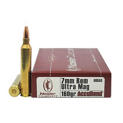 7mm RUM 160gr AccuBond (Per 20)