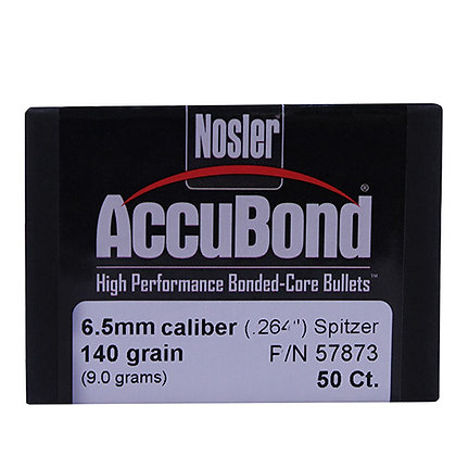 6.5mm 140gr  AccuBond (50 ct)