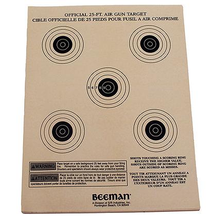 Paper Targets (Per 25)