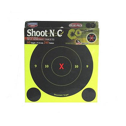 "B8-60 Shoot-N-C 6"" Round XBull 60Pk"