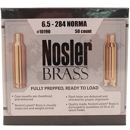 6.5-284 Norma Brass (50 ct)