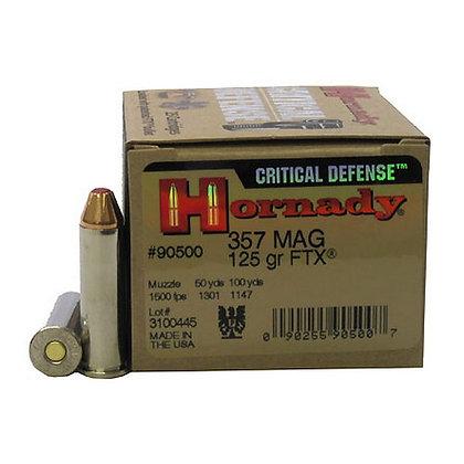 Ammo 357 Mag 125gr Ftx Cd/25