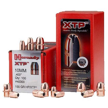 10mm .400 155gr HP/XTP /100