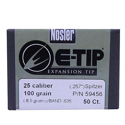 25 Cal 100gr E-Tip (50 ct)