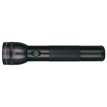 """2 Cell """"D"""" Maglight, Black"""