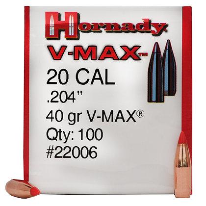 20 Cal .204 40gr V-Max /100
